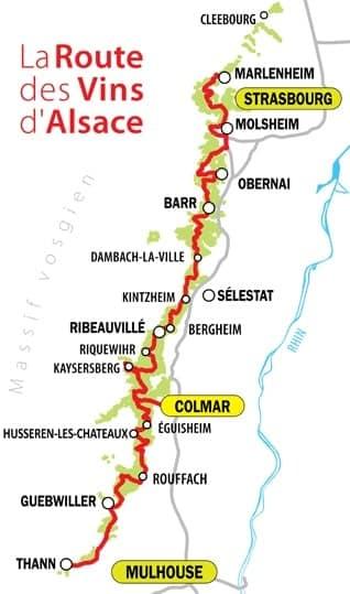 Arpenter la route des vins avec chauffeur privé VTC depuis Strasbourg